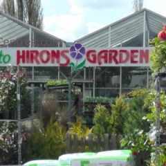 Hirons garden centre