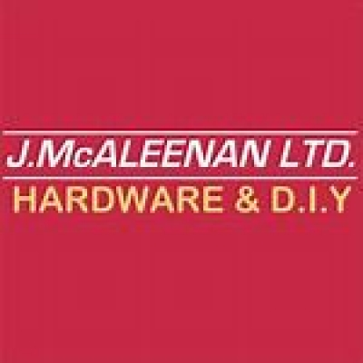 J. McALEENAN Ltd. HARDWARE & DIY.